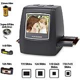 Escáner de Diapositivas de alta resolución Diapositivas para escáner y fotos para diapositivas negativas fotográficas y negras: Amazon.es: Electrónica