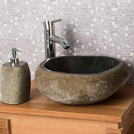 Lavabo Piedra Precios.Wanda Collection Lavabo Sobre Encimera De Piedra Natural