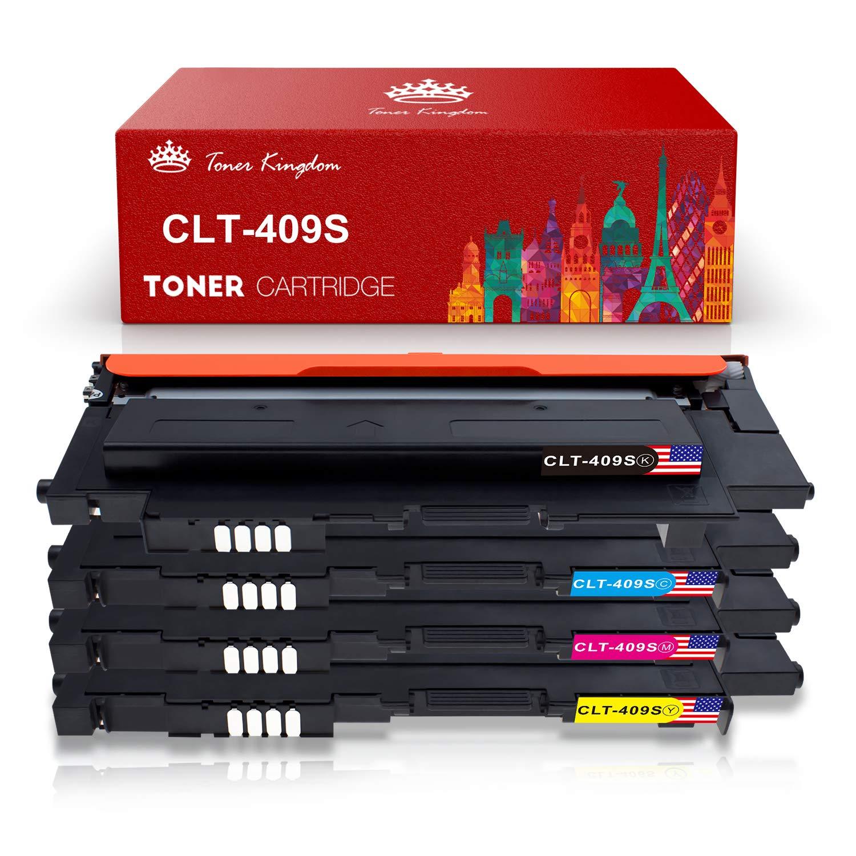 Toner Kingdom 4 Paquete Compatible Cartucho de tóner Para ...