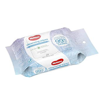 Huggies toallitas húmedas con Aloe on-the-Go Pack (24 ct.,