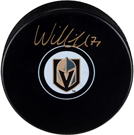 315bf8d87 William Karlsson Vegas Golden Knights Autographed Hockey Puck - Fanatics  Authentic Certified - Autographed NHL Pucks