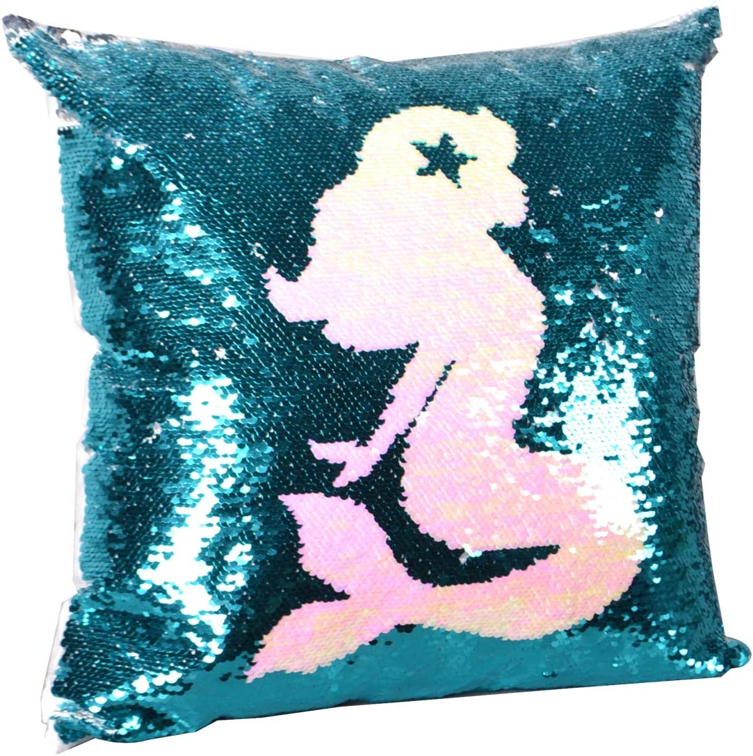 mermaid pillow mermaid decor|mermaid pillow cover|mermaid pillows decorative