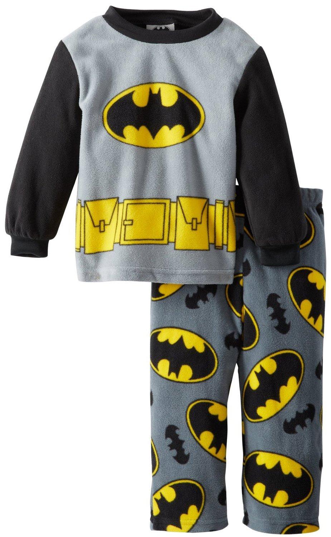 Batman niños Gris Impreso 2pieza Micro Forro Polar Pantalones Pijama Conjunto Gris Gris Medium: Amazon.es: Ropa y accesorios