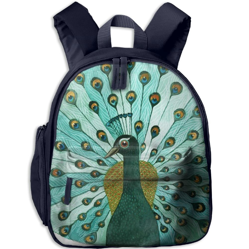 Peacock Small Backpack Cool Toddler Backpacks Kids Bags 12 5inches