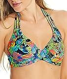 Freya Island Girl Underwire Banded Halter Bikini Top in Tropical (AS2980) *Sizes C-GG*