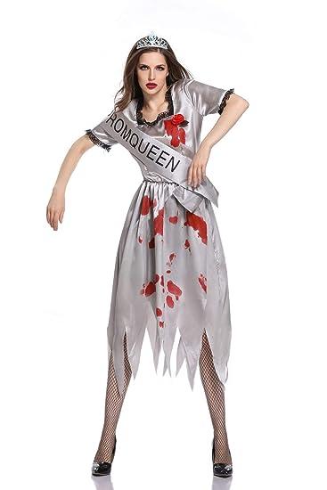 CWZJ Halloween Cosplay Terrorista Adulto Femenino Pecho ...