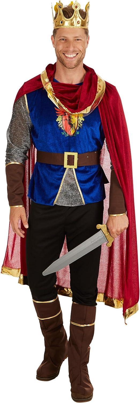 dressforfun Disfraz de Rey para Hombre | Incl. Capa + Botas y Mitones (XXL | No. 301219)