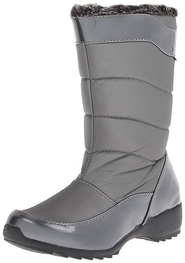 Womens Jennifer Faux Fur Almond Toe Mid-Calf Fashion Boots