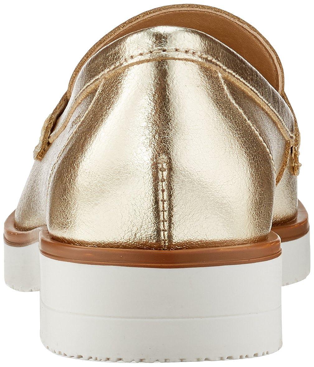 ESPRIT Damen Oska Loafer Slipper Gold Gold Slipper (Gold) ce7054