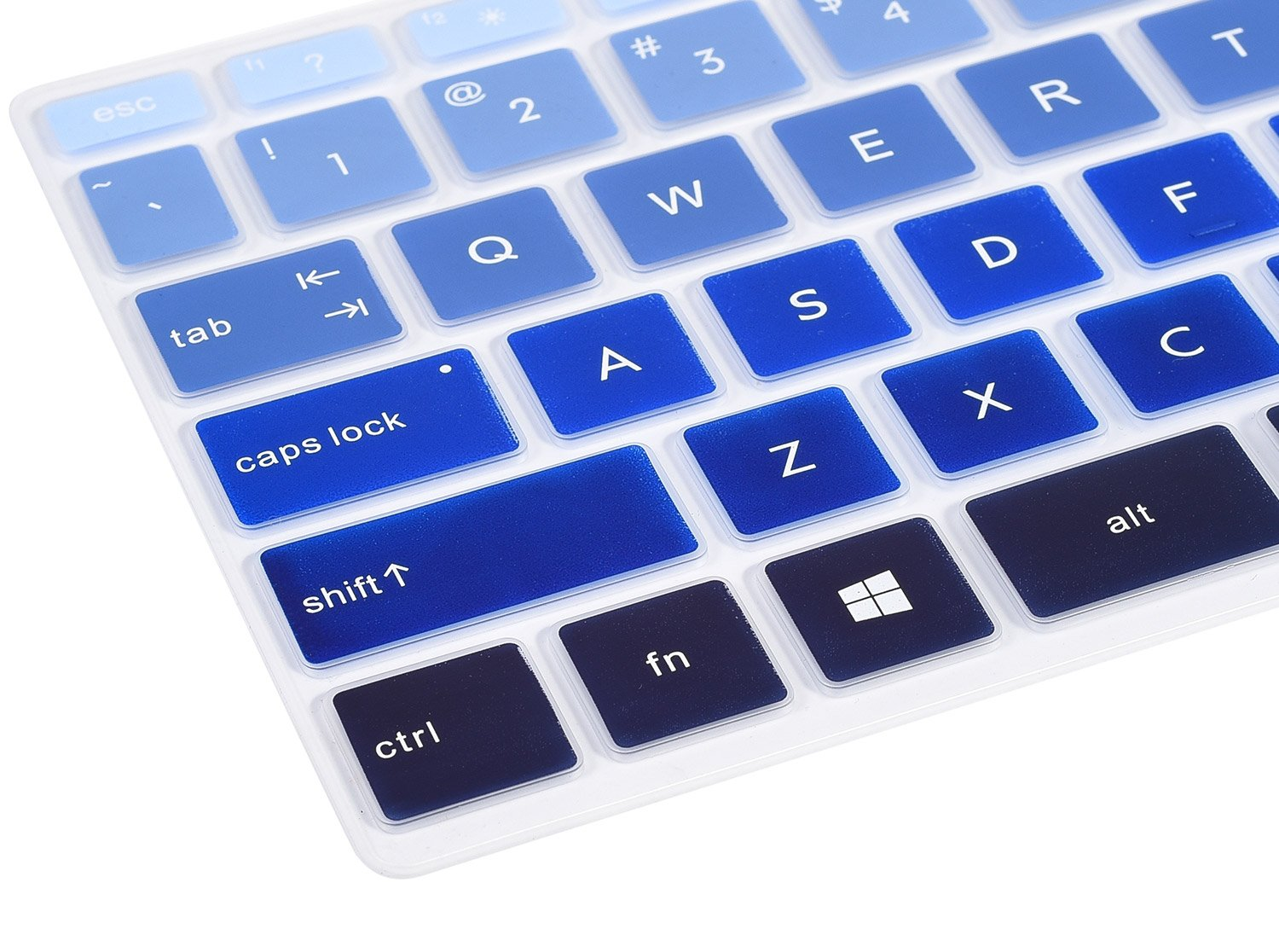 Blue CaseBuy Keyboard Cover for HP Pavilion X360 14M-BA011DX 14M-BA013DX 14M-BA015DX 14M-BA114DX 14-BF040WM 14-BF050WM 14M-CD0001DX 14M-CD0003DX 14-CM0010NR 14 inch Laptop US Layout
