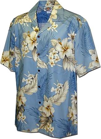 Pacific Legend Boys Hawaiian Shirts Plumerias