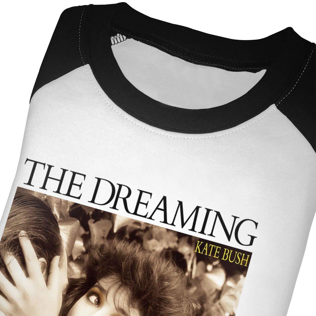 Black6Red Kate Bush /â/€?The Dreaming Childrens 3//4 Sleeve T-Shirt