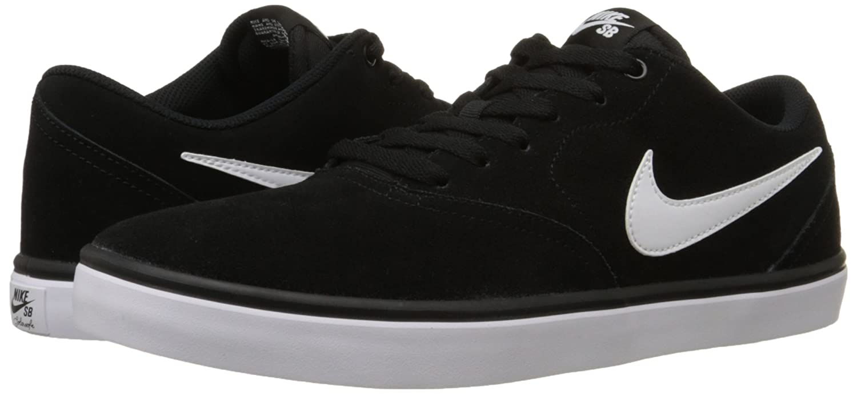 NIKE Men's SB Check Solar Skate Shoe B0178Q2EM0 11 M US Black / White