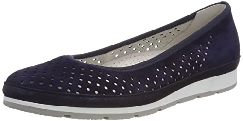 Gabor Shoes Comfort Sport, Bailarinas para Mujer, Multicolor (Pinkjute/Gel/s.n), 42.5 EU
