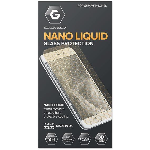Glass-Guard Nano Liquid Screen Protector Phone Sapphire Hard Invisible (iPhone 6S Samsung Galaxy S6 S7 Edge Nexus 5X Nexus 6P Xperia Z5 Sony Xperia Z5 X) <span at amazon
