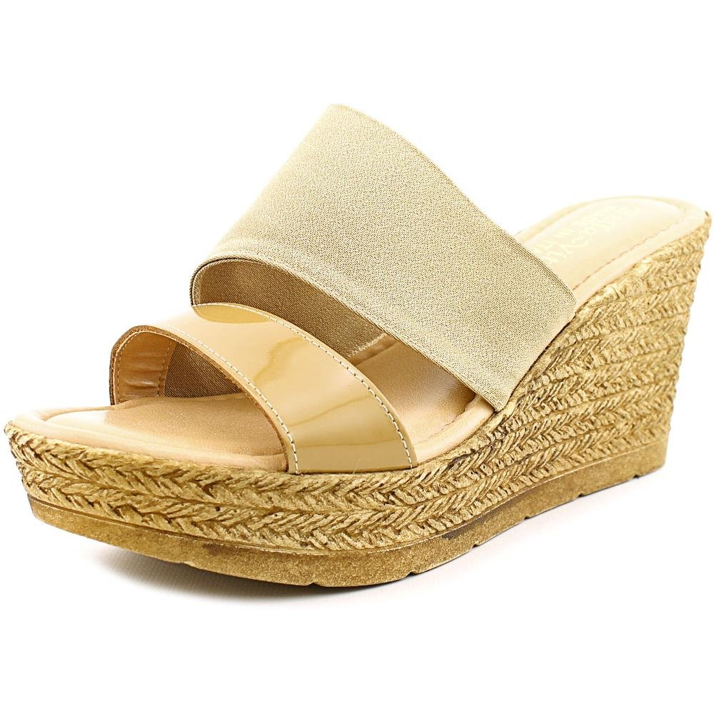 Bella Vita Women's Formia Wedge Sandal B01AAEMQVG 6 N US|Taupe