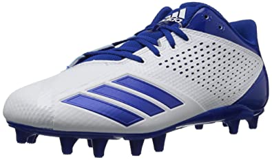 e5a3a8466a10 adidas Men s 5.5 Star Football Shoe White Collegiate Royal