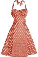 Amazon Com Dresstells Vintage 1950s Rockabilly Polka Dots