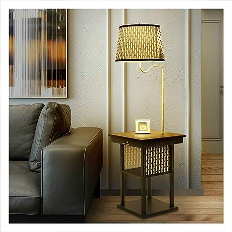 WQQ Lámparas de escritorio Lámpara de pie Sala de estar Sofá ...