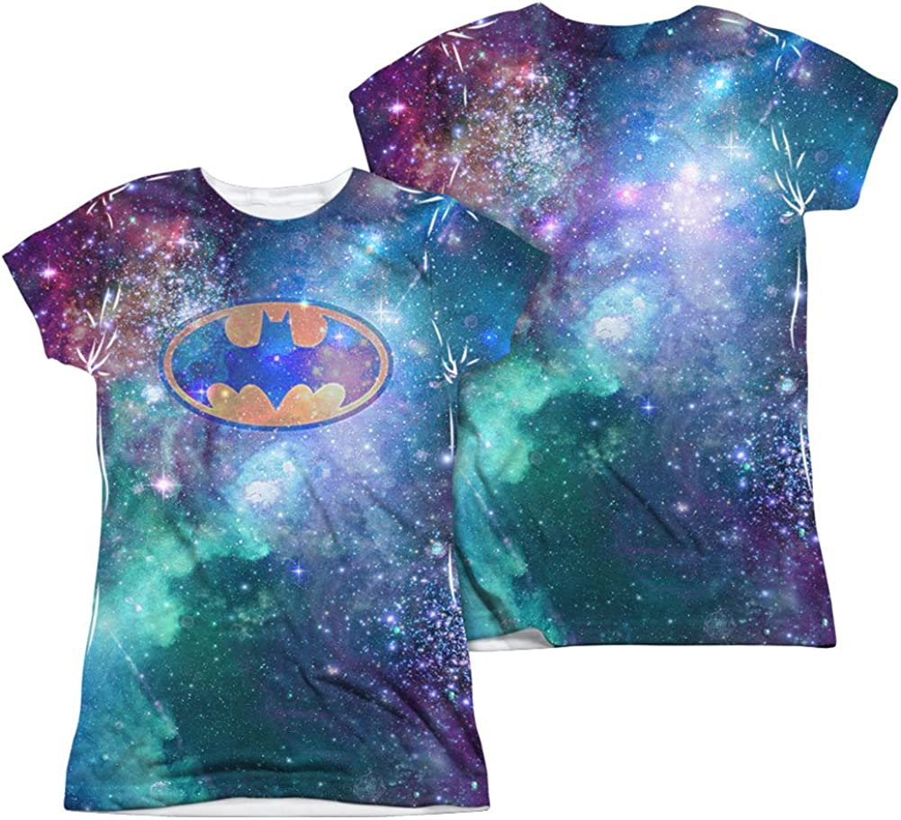 Batman 75 SYMBOLS 2-Sided Sublimated All Over Print Long Sleeve Poly T-Shirt