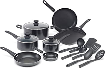 WearEver Nonstick 16-Piece Cookware Set