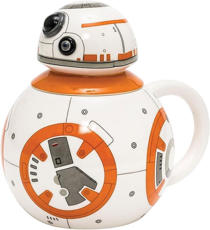 Joy Toy Star Wars - Taza de cerámica, diseño de BB-8: Amazon.es: Hogar
