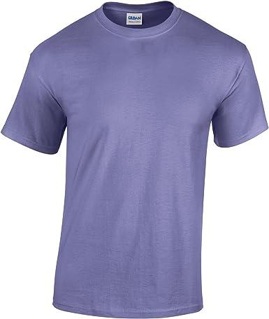 Gildan Heavy CottonTM Juventud Camiseta Violeta XL: Amazon.es: Ropa y accesorios