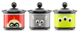 Disney DPX-3 Slow Cooker, 20 oz, Multicolor