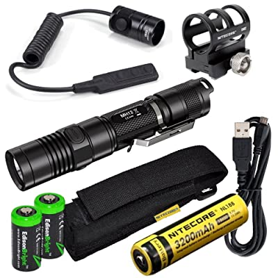 Nitecore MH12 1000 Lumens high intensity CREE XM-L2 LED long throw tactical flashlight