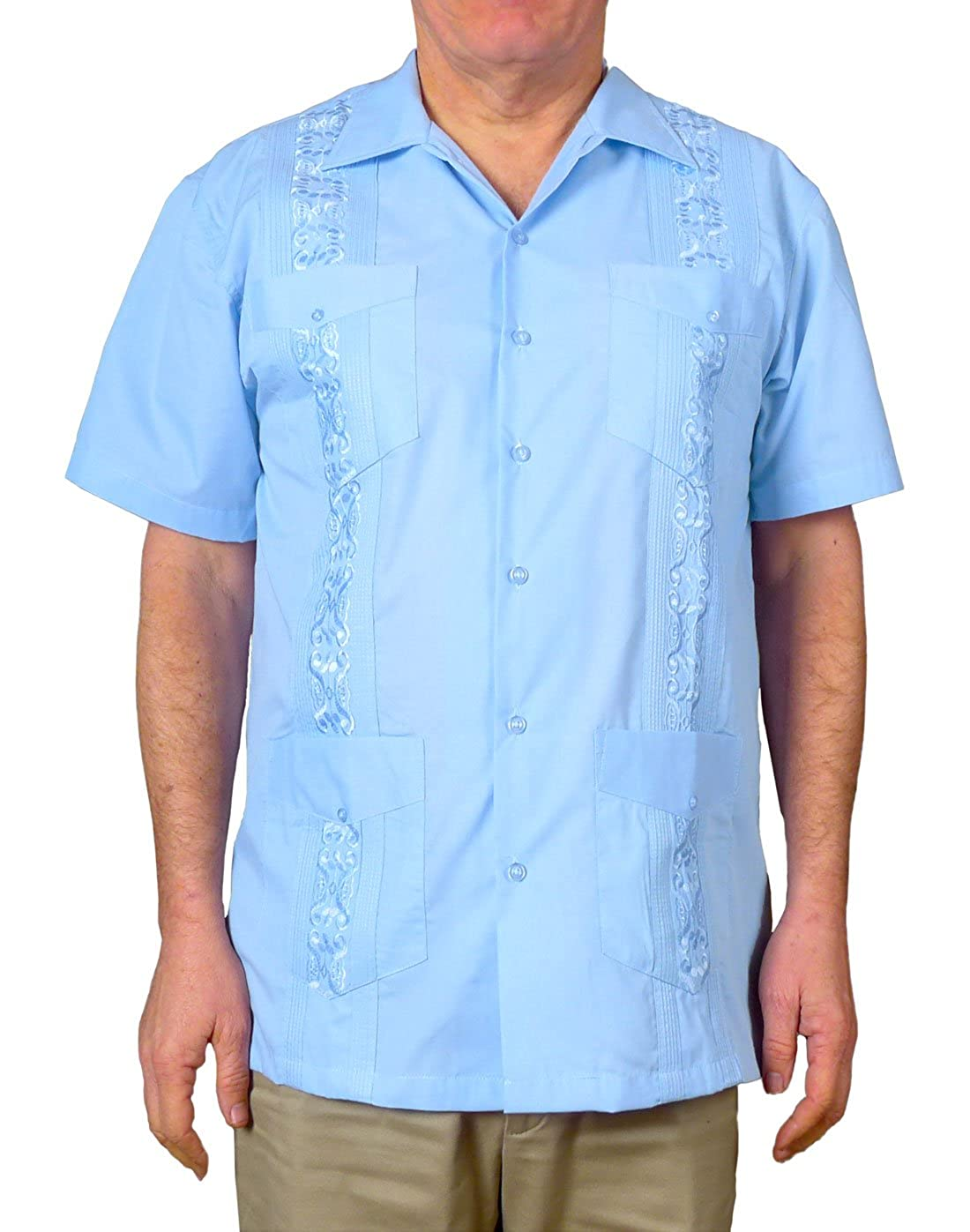 dcea3b89da Imported Classic Design with embroidery and 4 pockets. Havana - Mexican -  Caribbean Style Also known as a Chacbana