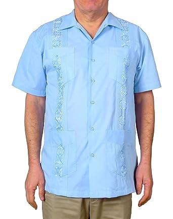 75caf24ed09 Squish Cuban Style Guayabera Shirt