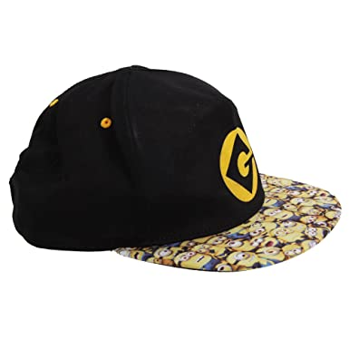Despicable Me Childrenskids Minions Gru Symbol Baseball Cap One