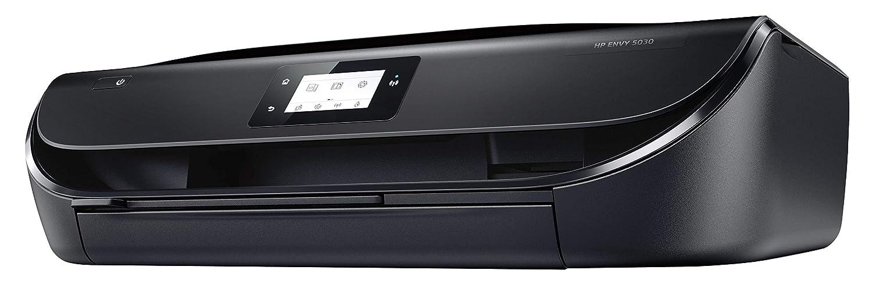 HP Envy 5030 – Impresora Multifunción Inalámbrica Color Negro + SanDisk Ultra - Tarjeta de Memoria microSDXC de 128 GB con Adaptador SD, Velocidad de ...