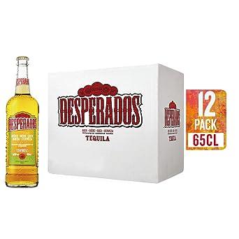 Desperados Cerveza - Caja de 12 Botellas x 650 ml - Total: 7.80 L: Amazon.es: Alimentación y bebidas