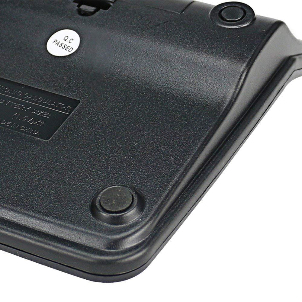 RoadRoma Calculadora electr/ónica Tianse No Necesita bater/ía Energ/ía Solar 12 Pantalla Digital