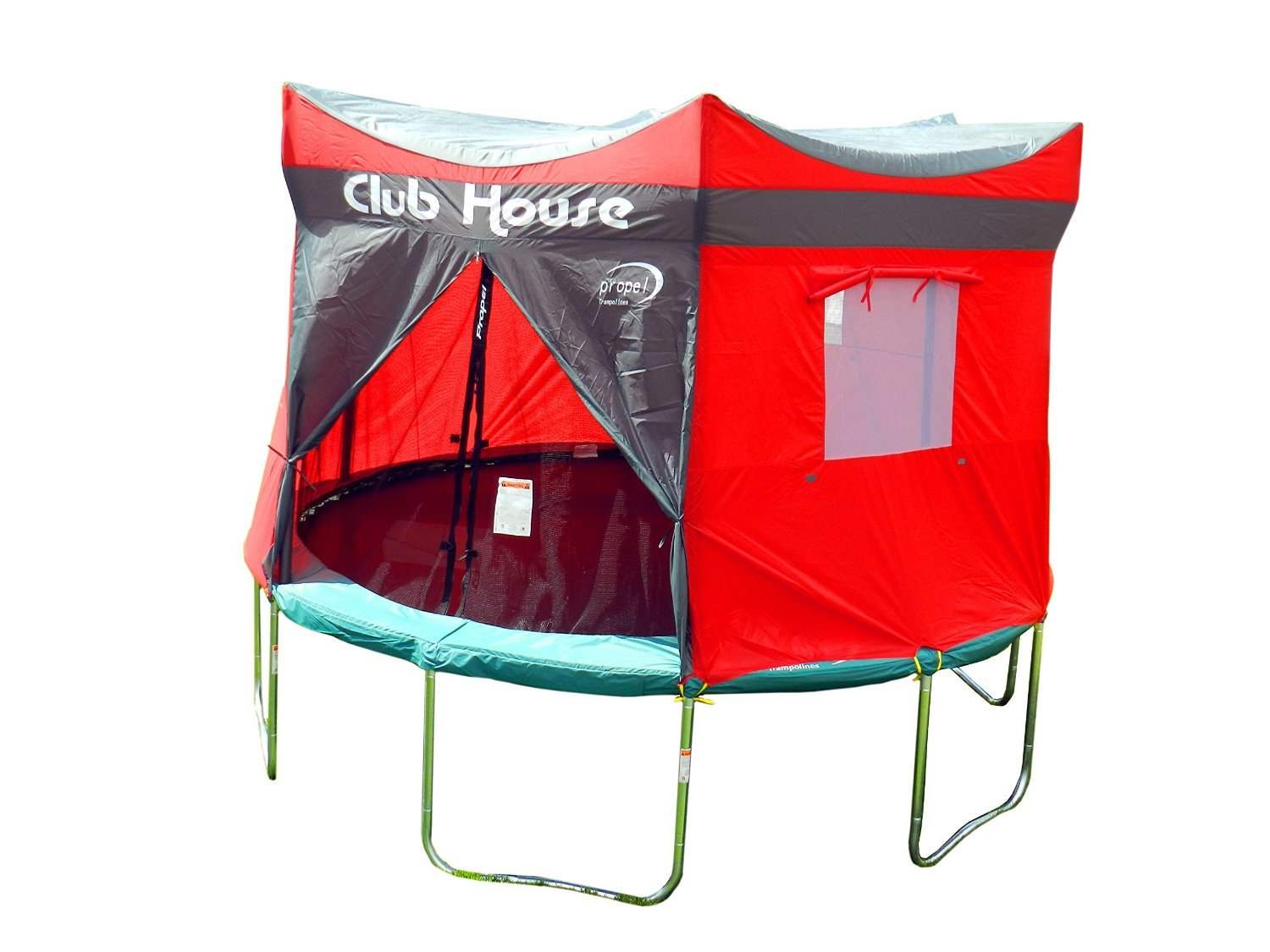 Clubhouse Tent Accessory Kit for Propel 12' Trampoline with 6 pole enclosure - TENT ONLY by Propel (Image #5)