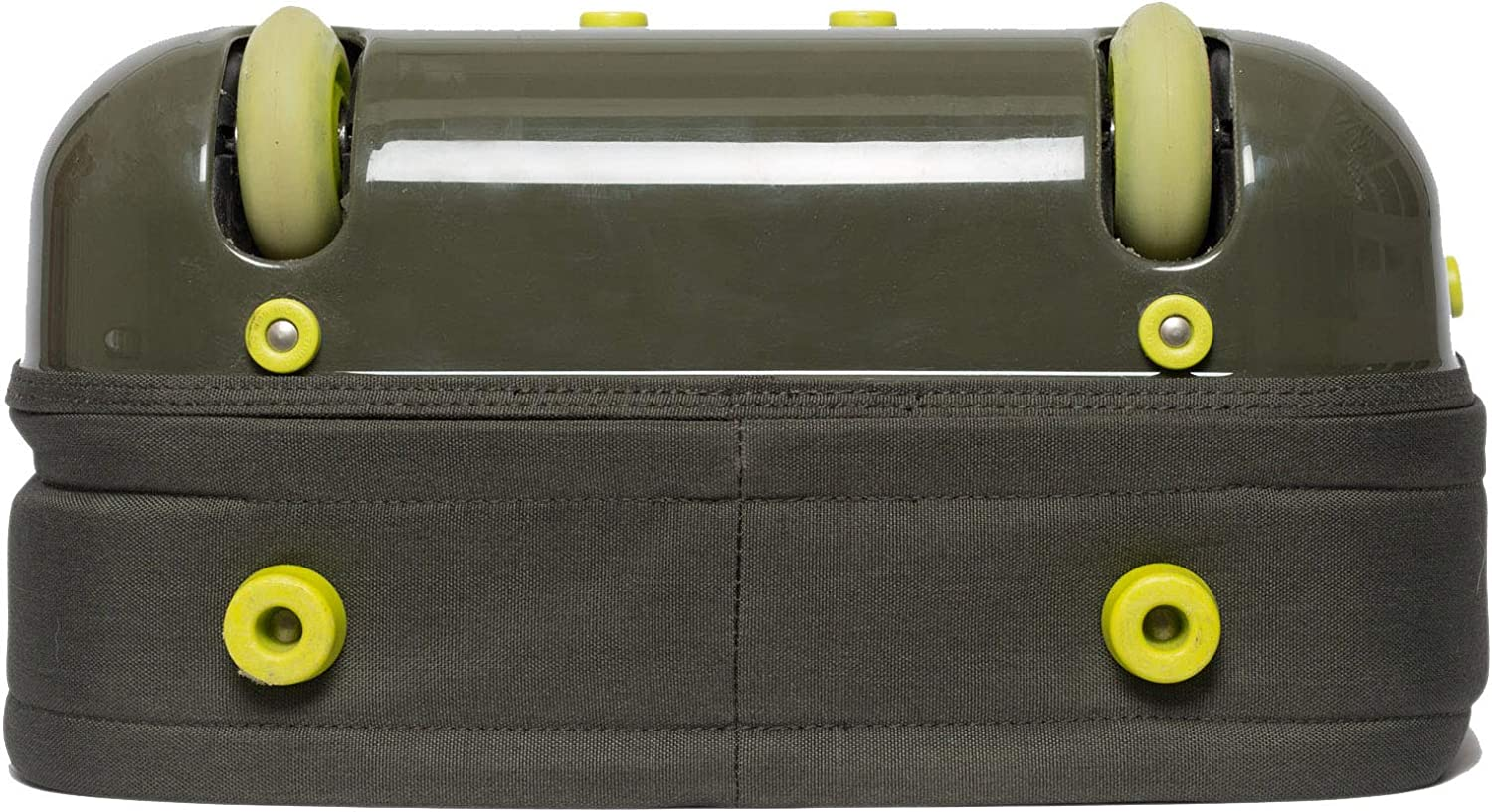 Army Green Zixag Airbag 21 Light Weight Carry-on Luggage Suitcase