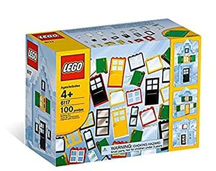 LEGO Bricks u0026 More LEGO® Doors u0026 Windows 6117  sc 1 st  Amazon.com & Amazon.com: LEGO Bricks u0026 More LEGO® Doors u0026 Windows 6117: Toys u0026 Games