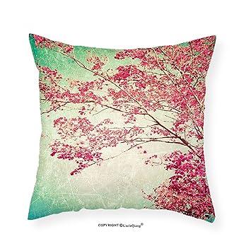 Amazon.com: VROSELV Custom Cotton Linen Pillowcase Vintage Fall ...