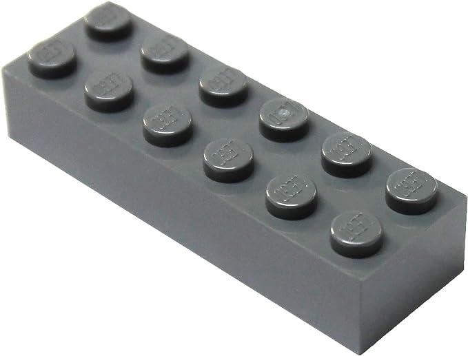 25 to 300 Pieces LEGO Dark Bluish Gray Brick 2x6