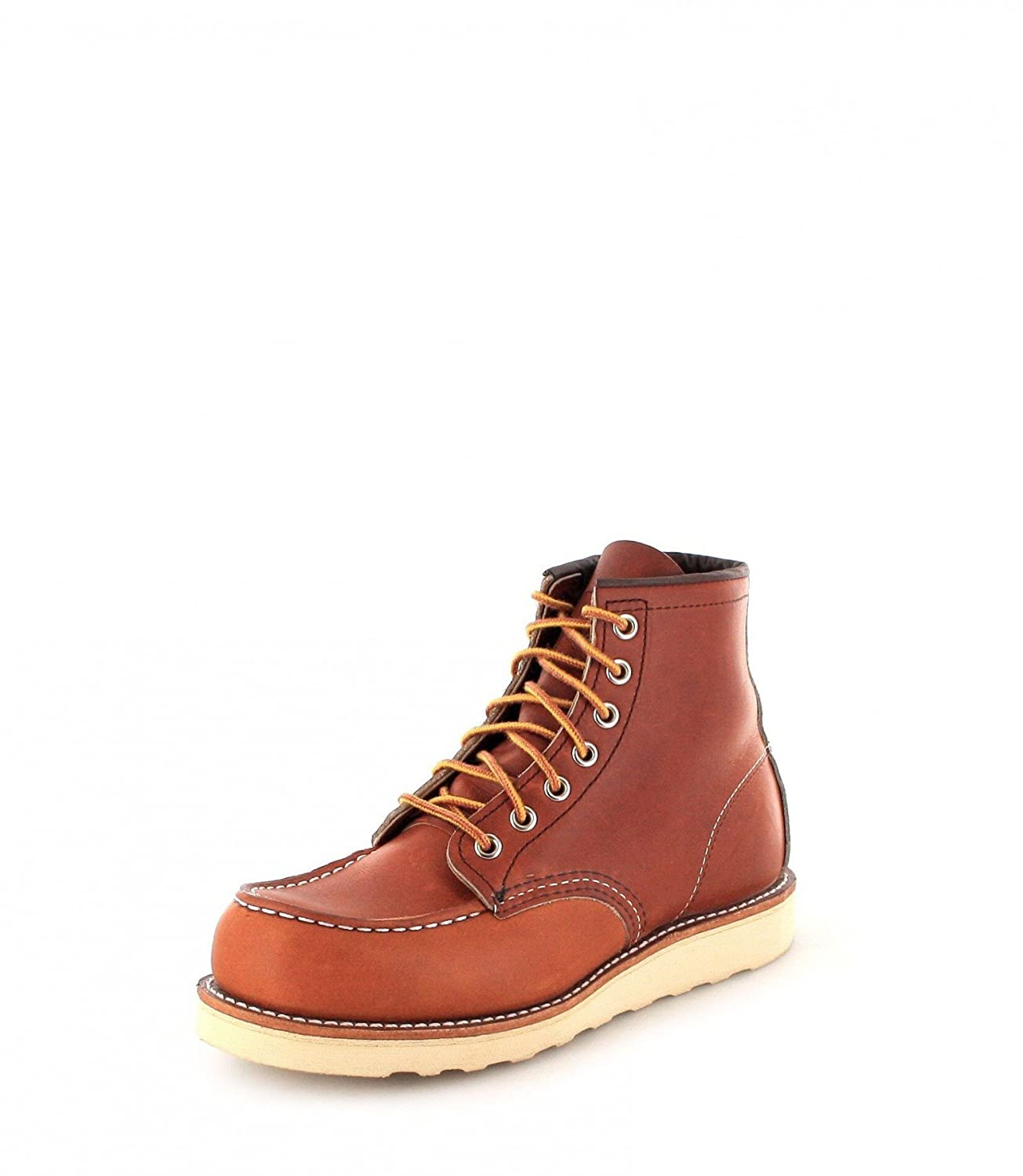 Red Wing Shoes Hombres Oro Legacy 6-Inch Moc Toe Botas 45 EU