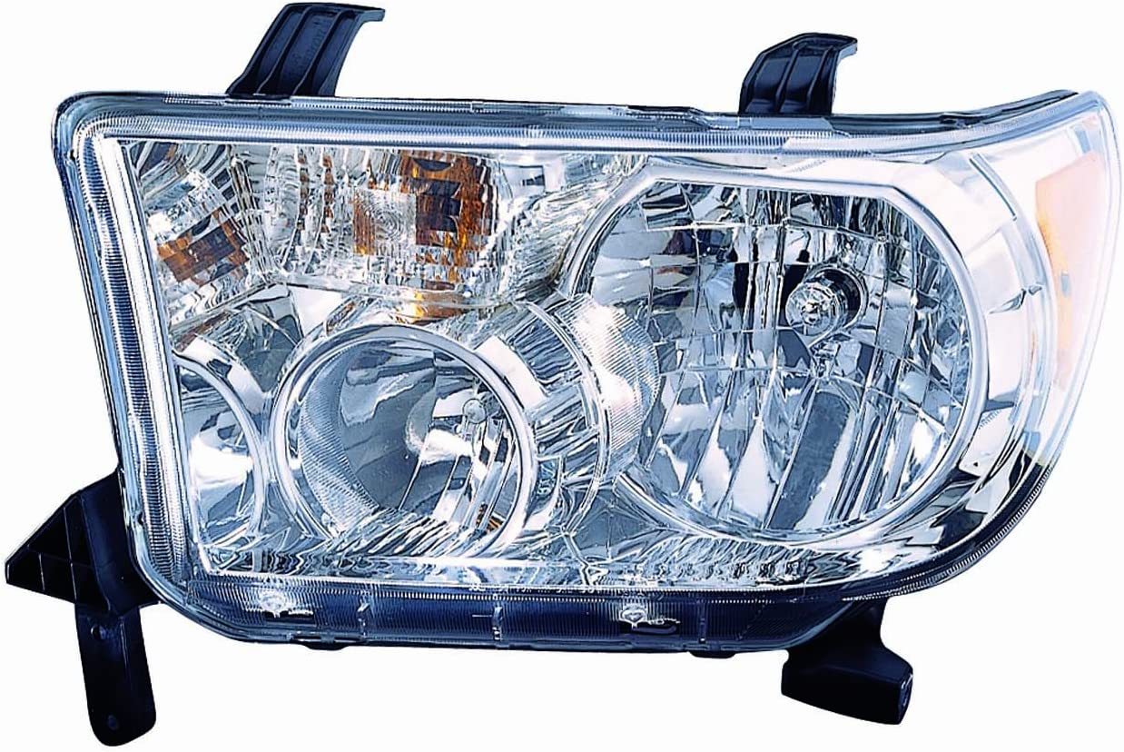 Depo 316-1128L-USN7 Mazda6 Driver Side Composite Headlamp Assembly with Bulb and Socket