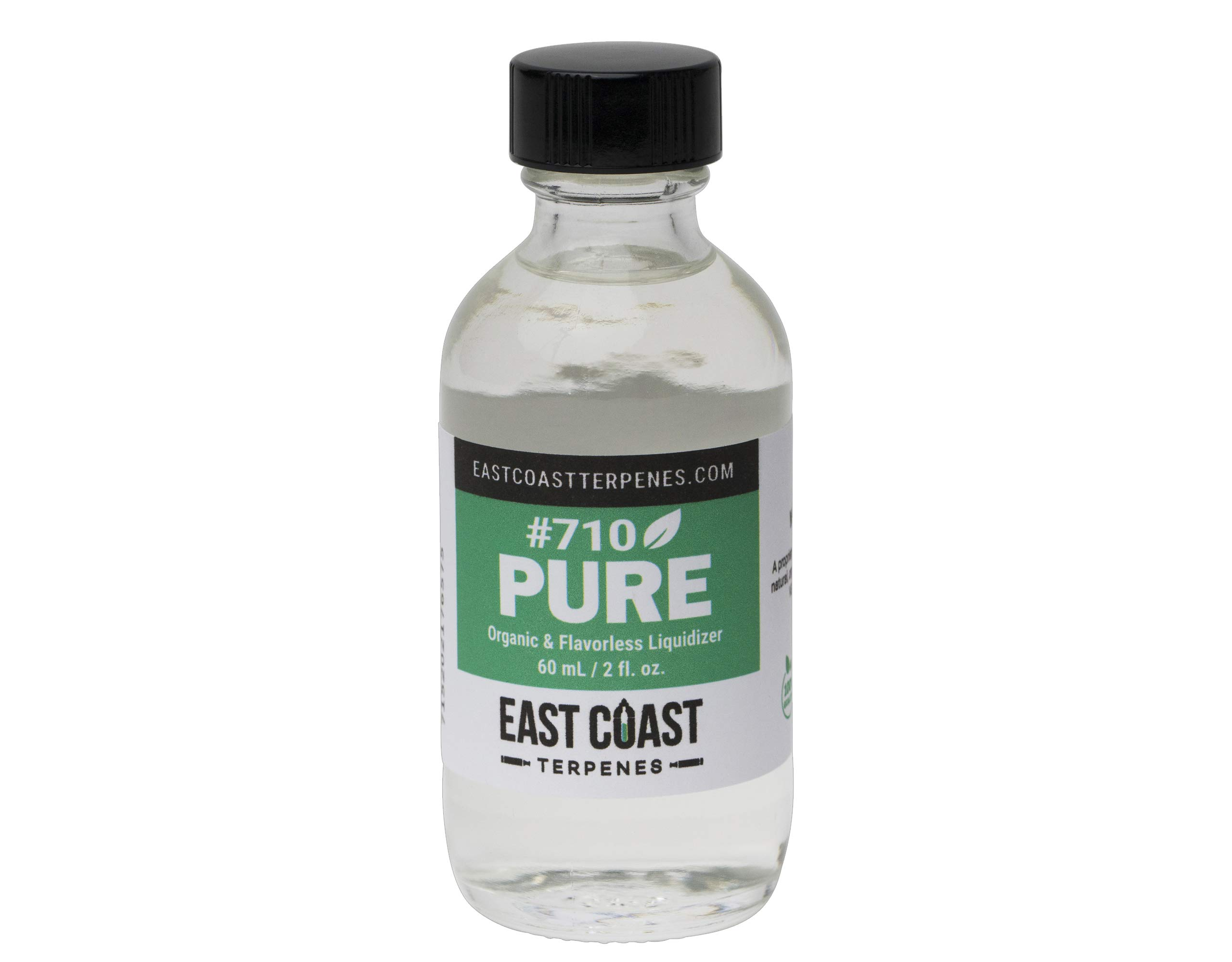 710 Pure Liquidizer (60 mL) Diluent for Concentrates, Shatter, Distillates, Extracts, Wax, and Resins - Organic Solution - East Coast Terpenes