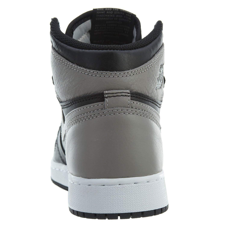 Size: 3.5Y Jordan Nike Air 1 Retro High OG Kids Black//Grey//White 575441-013 575441-013/_3.5Y