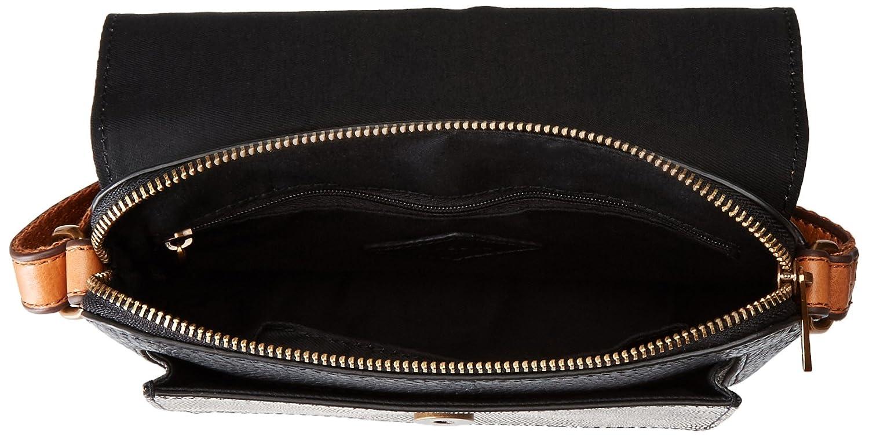 Fossil Kinley Small Crossbody Bag Neutral Multi One Size Handbags Brown Amazoncom