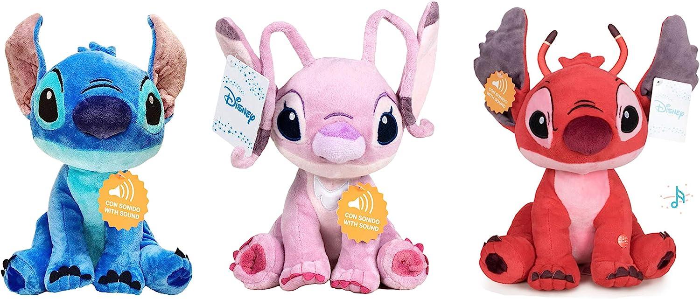 STITCH Lilo&Stitch - Pack 3 Peluches 11'41