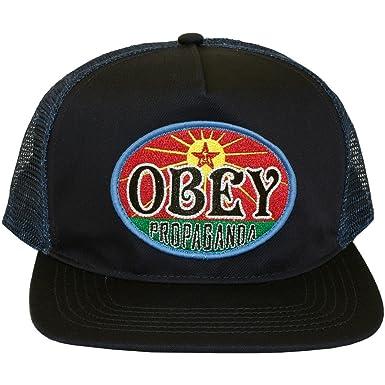 Obey-Gorra con visera curvada para hombre, Rising Sun-Dusty, color ...