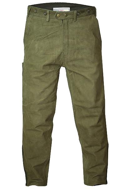 German Wear Pantalones Largos de Piel Traje típico de Caza ...
