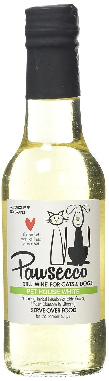 Woof & Brew - Vino Rosado Pawsecco para Mascotas: Amazon.es ...