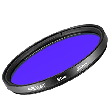 Neewer 52mm Filtro de Lente Azul para Nikon D3300 D3200 D3100 ...